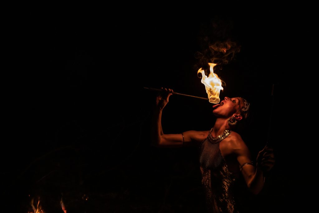 Fire Eating Fire Performer Fire Manipulation Fire Spinner Belly Dancer Fire for Hire Dallas Fort Worth Texas